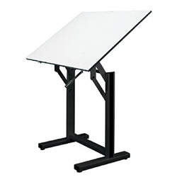 Alvin Ensign Drafting Table Black Base