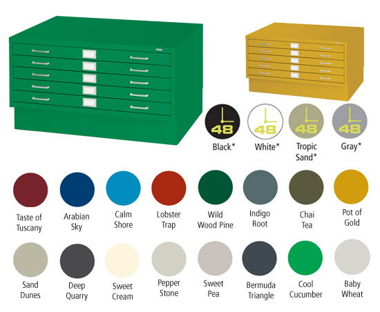 SAFCO_SteelFlatFile_Colors