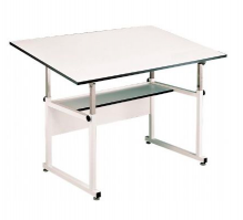 Alvin Workmaster Drafting And Art Table Free Freight