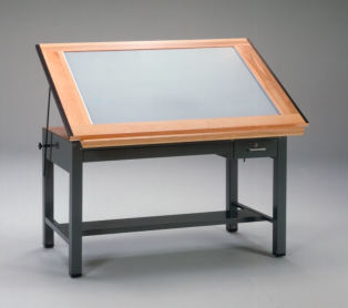 mayline_ranger_light_table